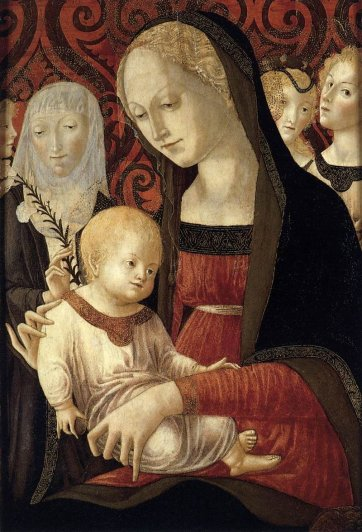 Madonna and Child with Angels and St. Catherine by Francesco di Giorgio Martini