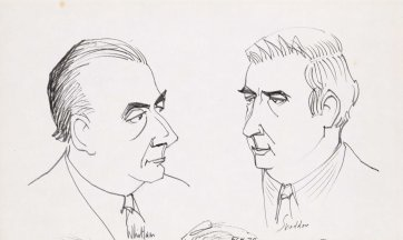 Whitlam & Snedden, 1974 Frank Hinder