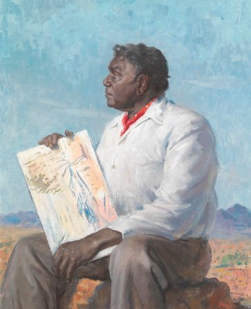 Albert Namatjira, 1958 by William Dargie
