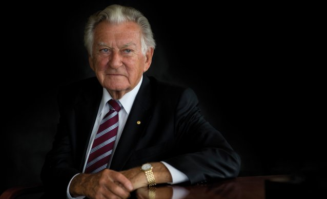 Bob Hawke, 2014 © Mike Bowers