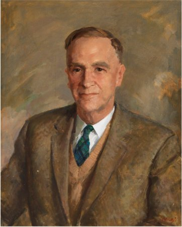 D.A.S. Campbell (David Alexander Stewart Campbell), 1963 by William Dargie