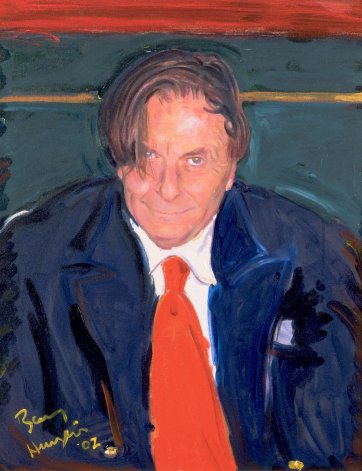 Self portrait, 2002 by Barry Humphries