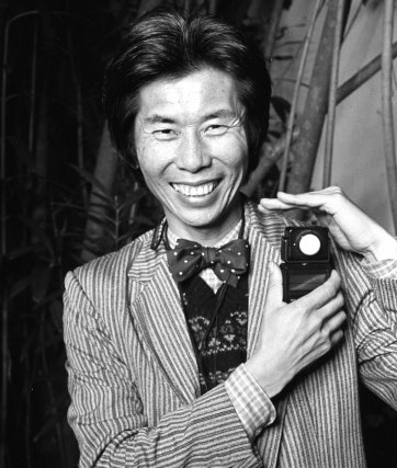 William Yang with light