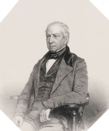 Robert Brown, 1850 by Thomas Herbert Maguire