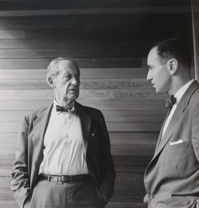 Walter Gropius and Harry Seidler