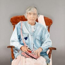 Portrait of Elizabeth Jolley, 2003 Mary Moore