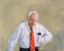 The Honourable J.J. Carlton with Cravat, 2000 Esther Erlich