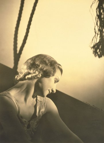 Hélène Kirsova with a rope, c. 1938 by Max Dupain