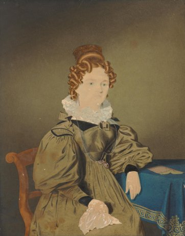 Mrs Cooper, 1833 by Richard Read Junior